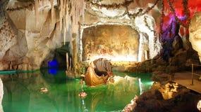 Venus-Höhle, Linderhof-Schloss, Deutschland lizenzfreies stockfoto