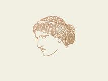 Venus logo Arkivbild