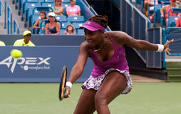 Venus 006. Mason, Ohio - August 17, 2015: Venus Williams at the Western and Southern Open in Mason, Ohio, on August 17, 2015 Stock Photos