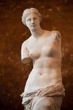 Venus of Milo. The famous Venus of Milo, at Louvre museum, Paris Royalty Free Stock Images