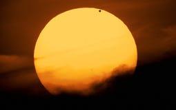 Venus och sol Royaltyfri Foto