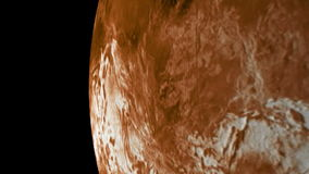 Venus orbit stock video footage
