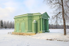 The Venus Pavilion in Gatchina Palace Park, near Petersburg, Rus Royalty Free Stock Photo