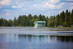 Venus pavilion in park. Gatchina. Petersburg. Russia Stock Photography