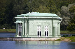 Venus pavilion in park, 1793 year. Gatchina. Petersburg. Russia. Stock Photo