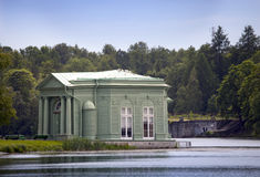 Venus pavilion in park, 1793 year. Gatchina. Petersburg. Russia. Stock Photography