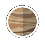 venus planet space shadow Stock Photos
