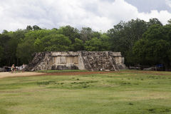 Venus Platform in Chichen Itza, Mexico Royalty Free Stock Photography