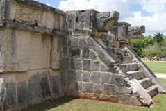 The Venus Platform,  Chichen Itza, Mexico Royalty Free Stock Photo
