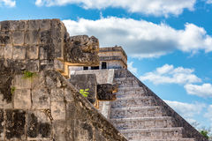 Venus Platform in Chichen Itza Stock Photo
