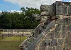 Venus Platform nella vista archeologica messicana Chichen Itza Immagine Stock Libera da Diritti