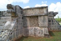 The Venus Platform. The Platform of Venus, The Great Plaza in Chichen Itza, Mexico Royalty Free Stock Photo