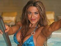 Venus Rising de piscine images stock