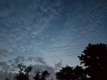 Venus in the sky in the morning time Stock Photography