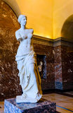 The Venus statue on display Stock Photography