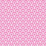 Venus symbol pattern. Royalty Free Stock Photo