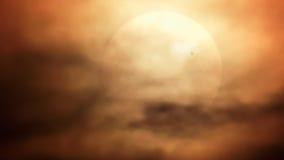 Venus Transit du 5 juin 2012 Images libres de droits