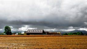Venuta della pioggia Fotografia Stock Libera da Diritti