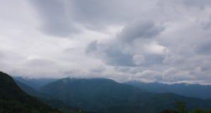 Venuta della tempesta di pioggia Fotografia Stock Libera da Diritti