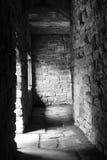 Venuta leggera tramite il tunnel Fotografia Stock
