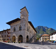 Venzone in Italy Stock Images