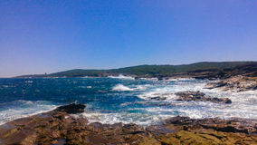 Veo el mar Fotos de archivo