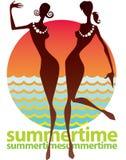verão ilustração royalty free
