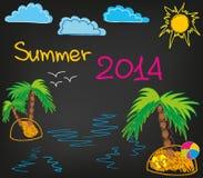 verão 2014_2 Imagem de Stock