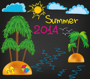 verão 2014 Fotografia de Stock