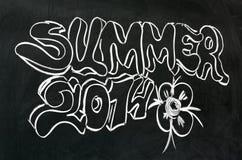 Verão 2014 Imagem de Stock Royalty Free