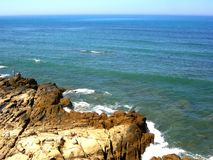 verão azul da cidade de Assilah do mar Imagens de Stock Royalty Free