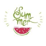 verão da cópia da melancia Foto de Stock