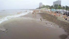 verão da praia de Sochi vídeos de arquivo