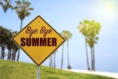 verão do adeus Fotos de Stock