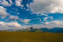 verão do dia da montanha Fotografia de Stock