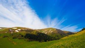 verão do dia da montanha Foto de Stock