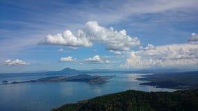 verão do lago Taal Foto de Stock Royalty Free