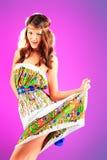 verão do vestido imagem de stock