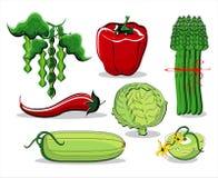 Verão dos vegetais colorido Imagem de Stock Royalty Free