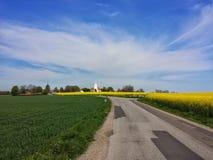Verão em Dinamarca imagem de stock