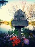 verão em Grécia (caminhada agradável pelo lago) Imagens de Stock Royalty Free