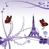 Verão em Paris ilustração stock