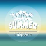 verão, férias e trave Imagens de Stock