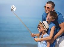 verão, família, conceito das férias fotografia de stock