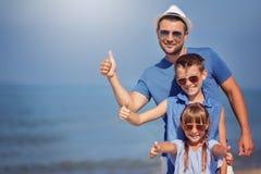 verão, família, conceito das férias foto de stock