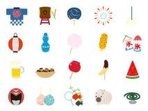 verão festival2 ilustração stock