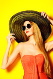 Verão lindo imagens de stock royalty free