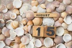 verão morno em agosto Imagens de Stock Royalty Free