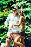 verão na bicicleta Fotografia de Stock Royalty Free