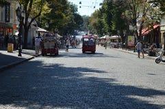 verão na cidade de Odessa fotografia de stock